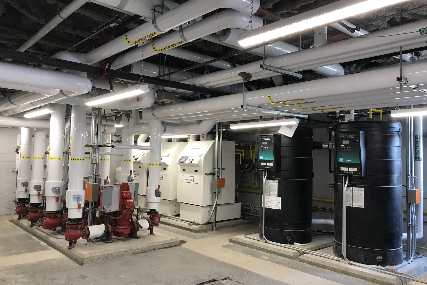 Boiler Room Renovations & Equipment Upgrades
